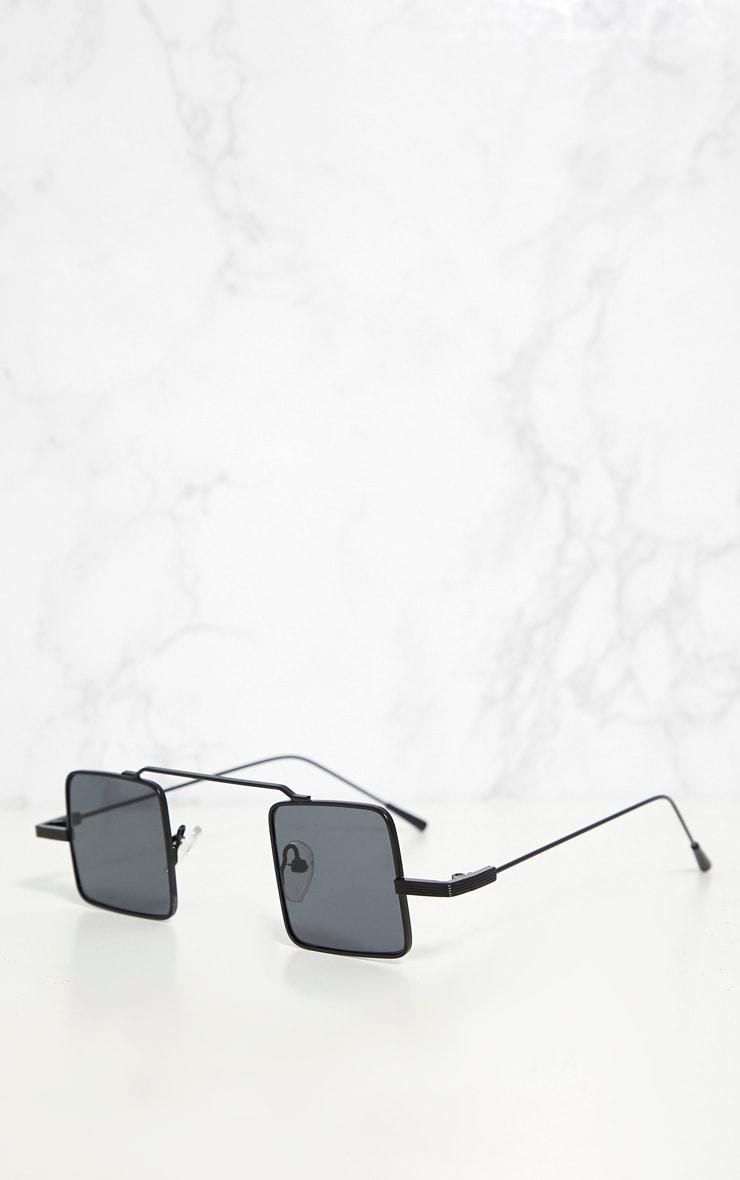 Black Small Square Sunglasses 3