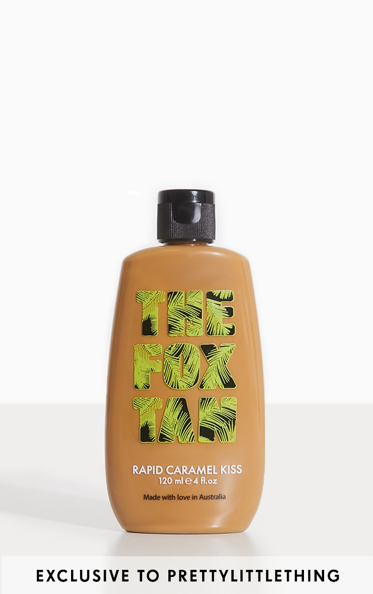 The Fox Tan Rapid Tanning Elixir Caramel Kiss 120ml 1