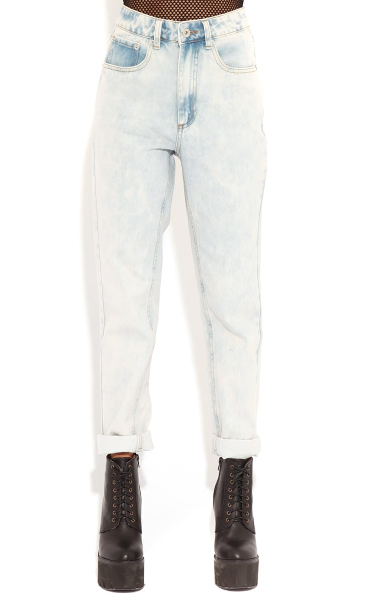 Lana Light Wash Denim Boyfriend Jeans 3