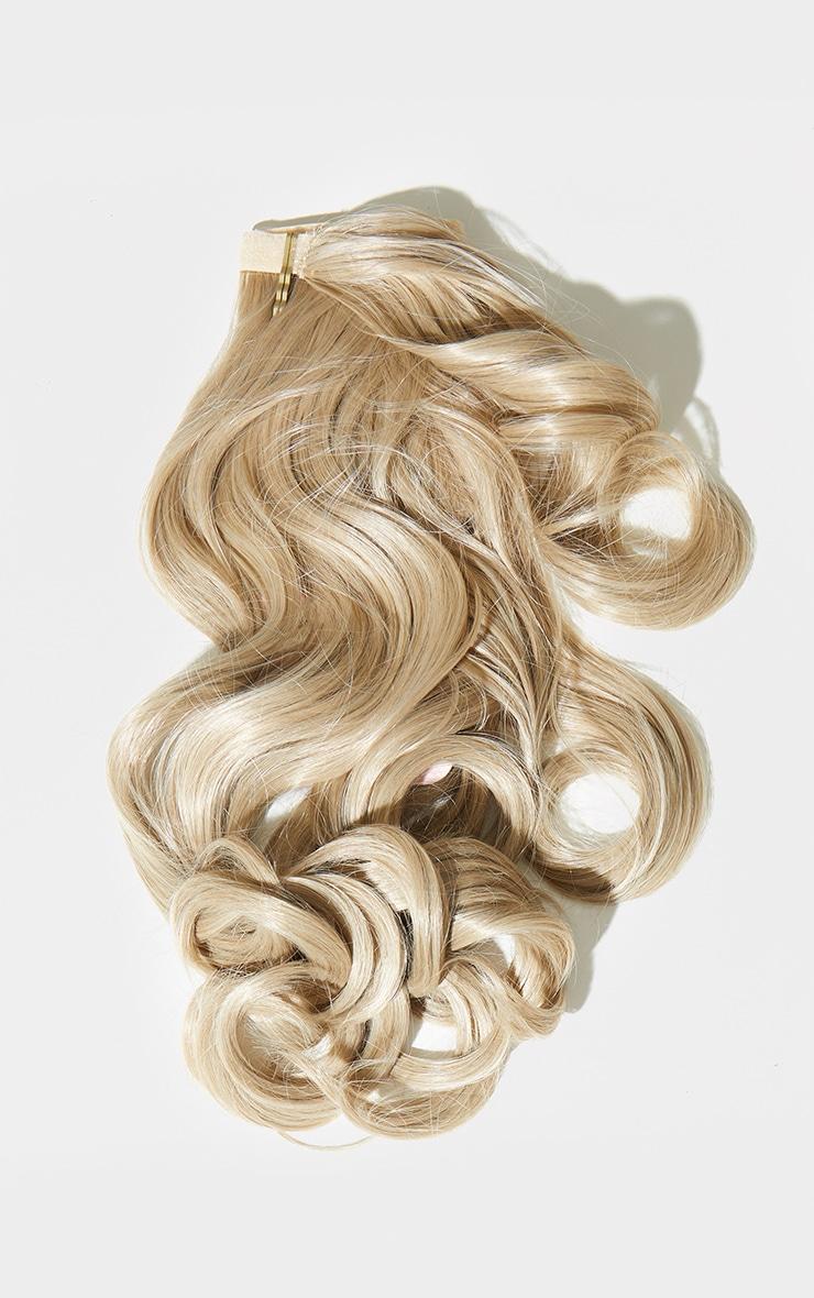 Lullabellz Mini Grande 18 90s Curl Wraparound Pony California Blonde 5