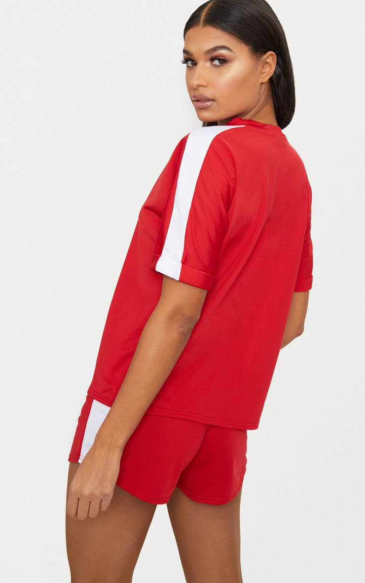 Red Tracksuit Top 2