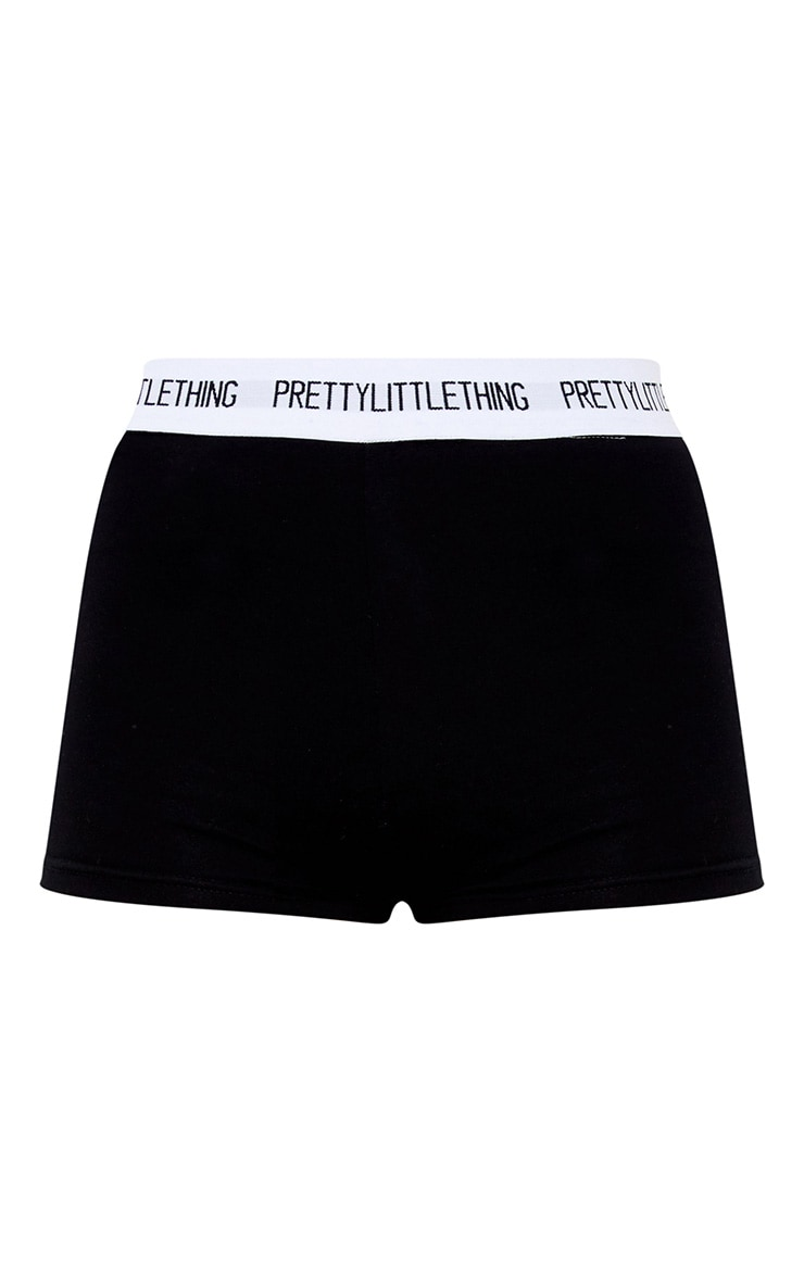 PRETTYLITTLETHING Black Shorts 3