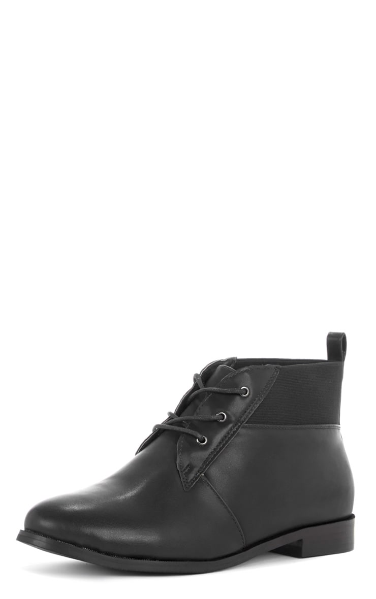 Zaya Black Shoe Boot 4