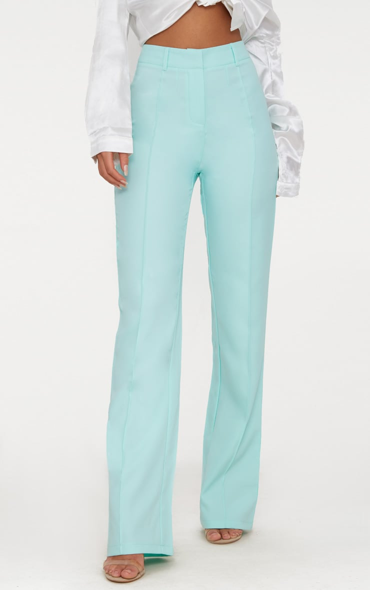 Mint High Waisted Straight Leg Pants 2