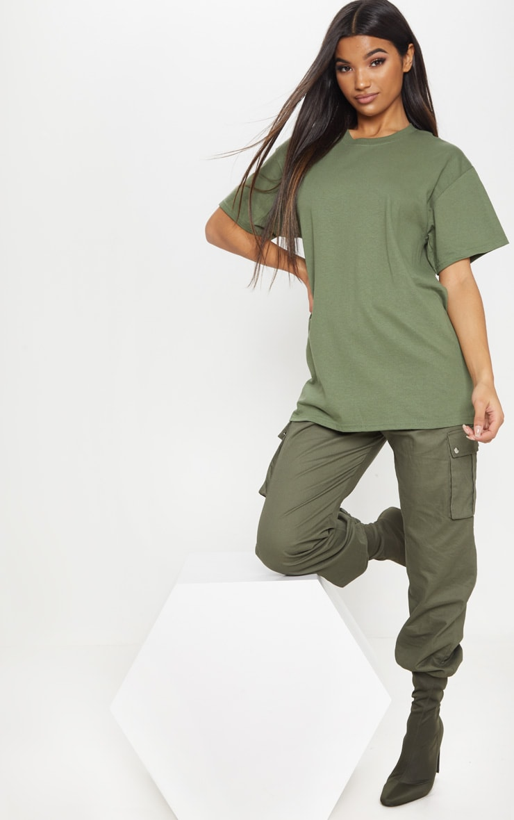 Ultimate Green Oversized T Shirt 4