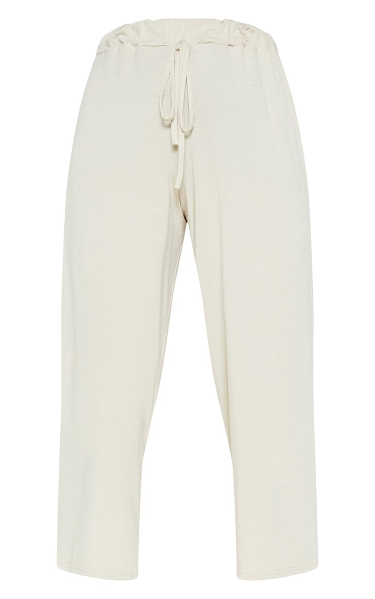Stone Narrow Leg Tie Detail Culotte 3