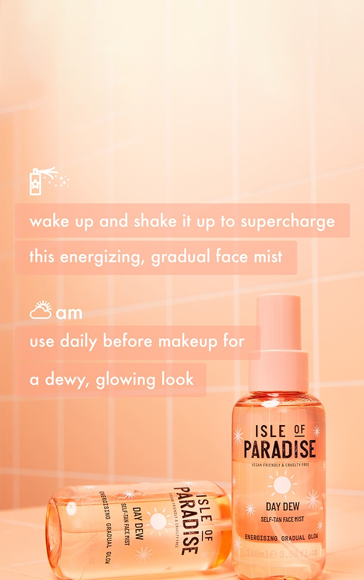 Isle of Paradise Day Dew Self-Tan Face Mist 6