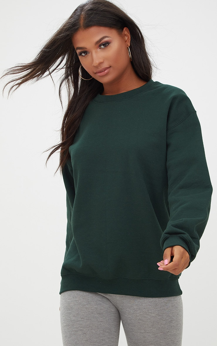 Forest Green Ultimate Oversized Sweater 1