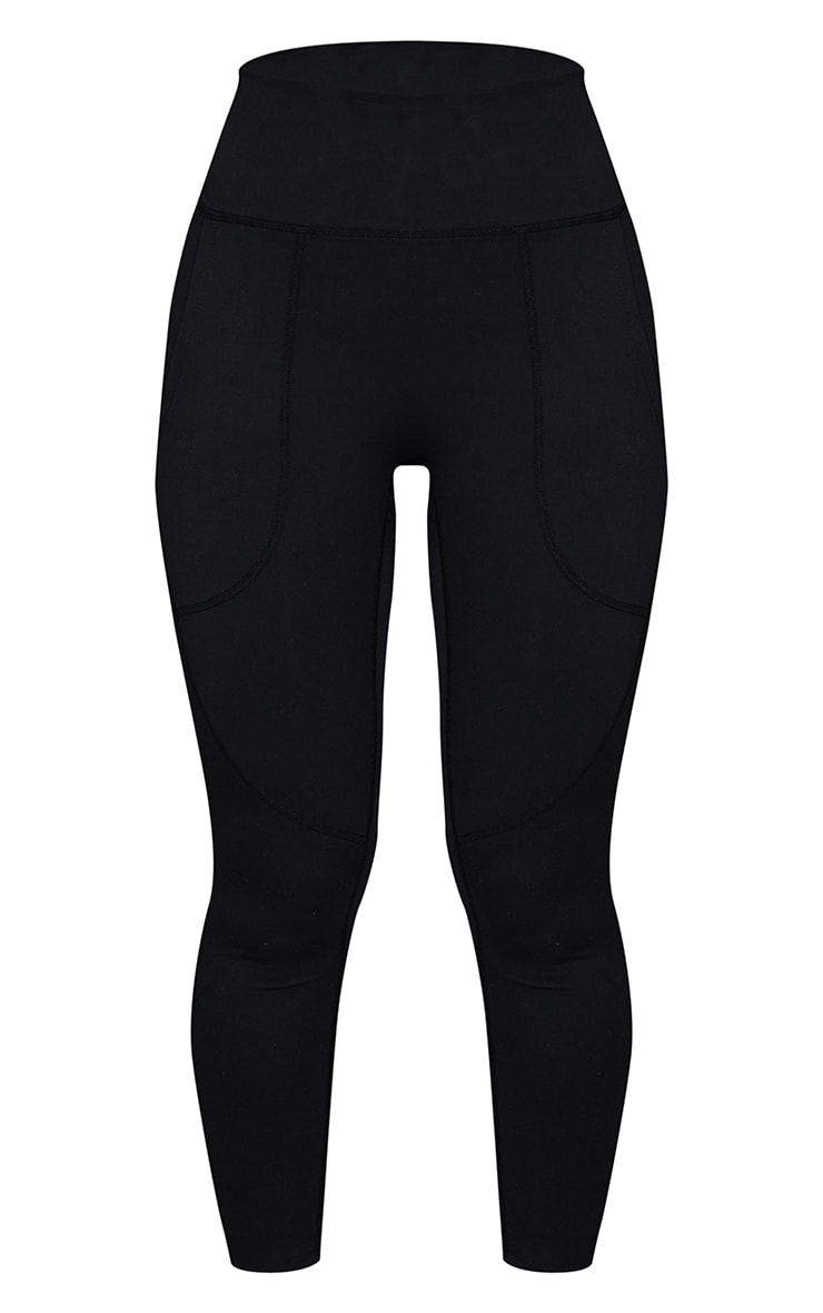 Black Sculpt Luxe Pocket Gym Leggings 5