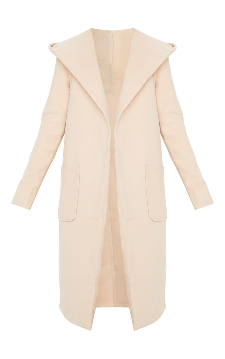 Petite Waterfall Stone Hooded Coat 3
