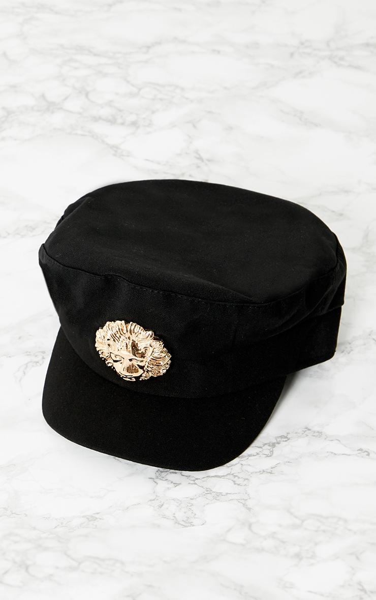 Black Lion Baker Boy Hat 3