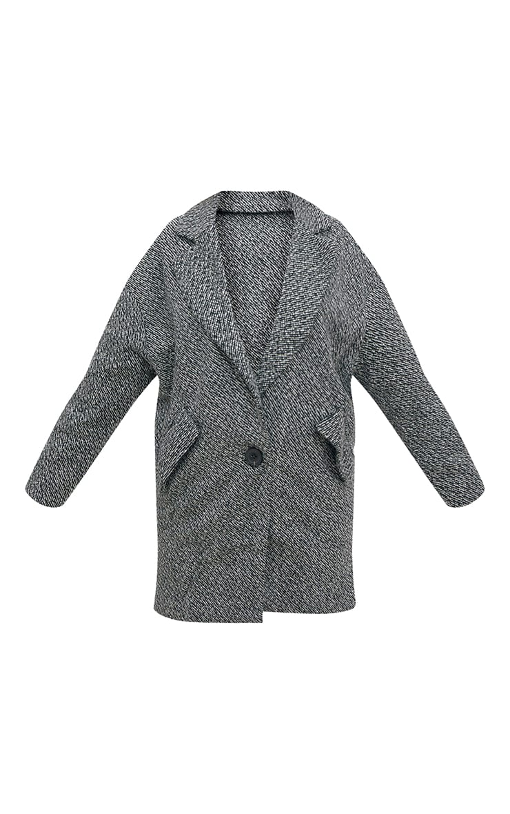 Grey Harringbone Coat 3