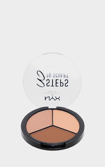 NYX Professional Makeup 3 Steps to Sculpt Face Sculpting Palette Deep