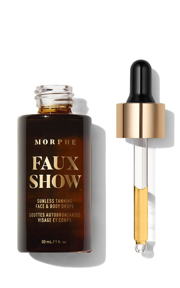 Morphe Faux Show Sunless Tanning Face & Body Drops 2