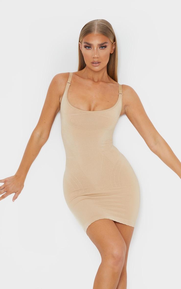Nude Bum Lift Shapewear Slip Dress 1