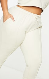 Plus Stone Washed Piping Joggers 4