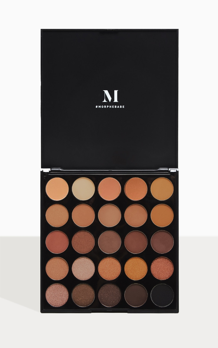 Morphe 25A Copper Spice Eyeshadow Palette 1