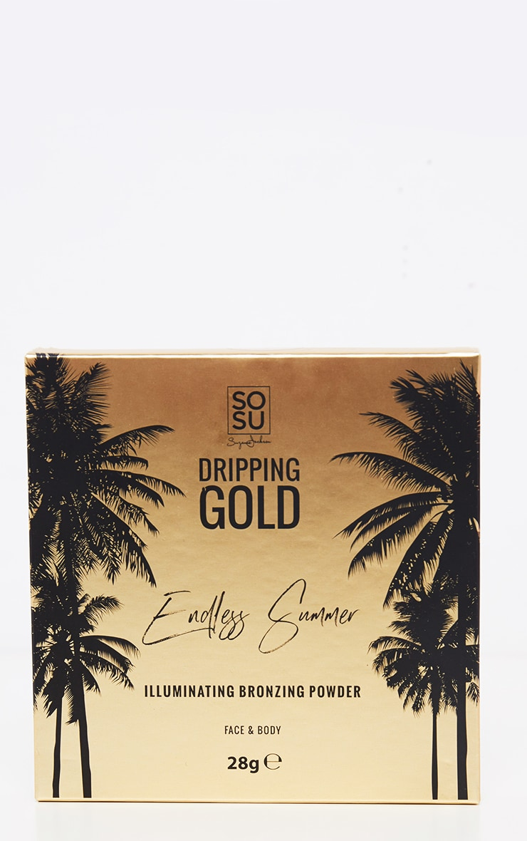 SOSUBYSJ Dripping Gold Large Bronzer Shimmer 4