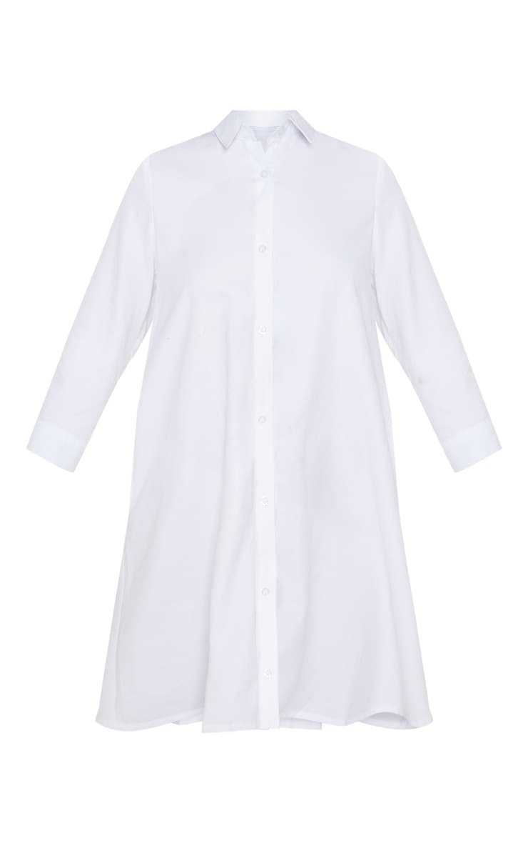 Leni White Shirt Dress 3