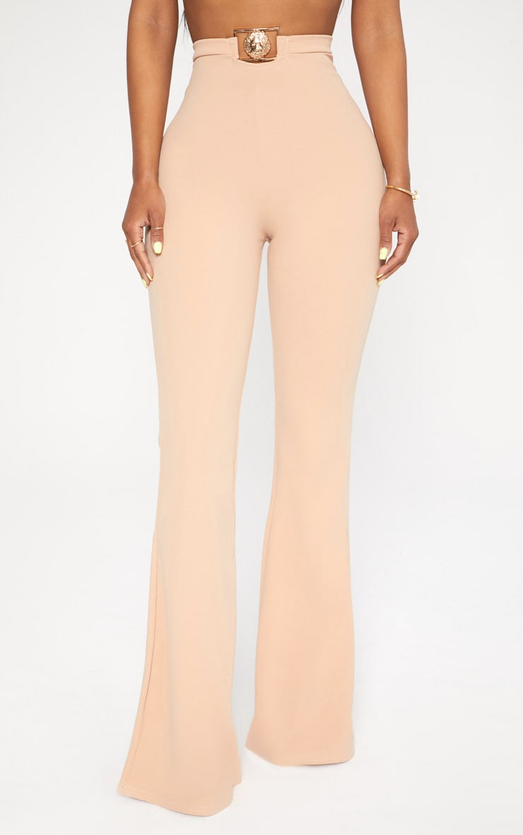 Shape Nude Lion Trim Wide Leg Trousers 2