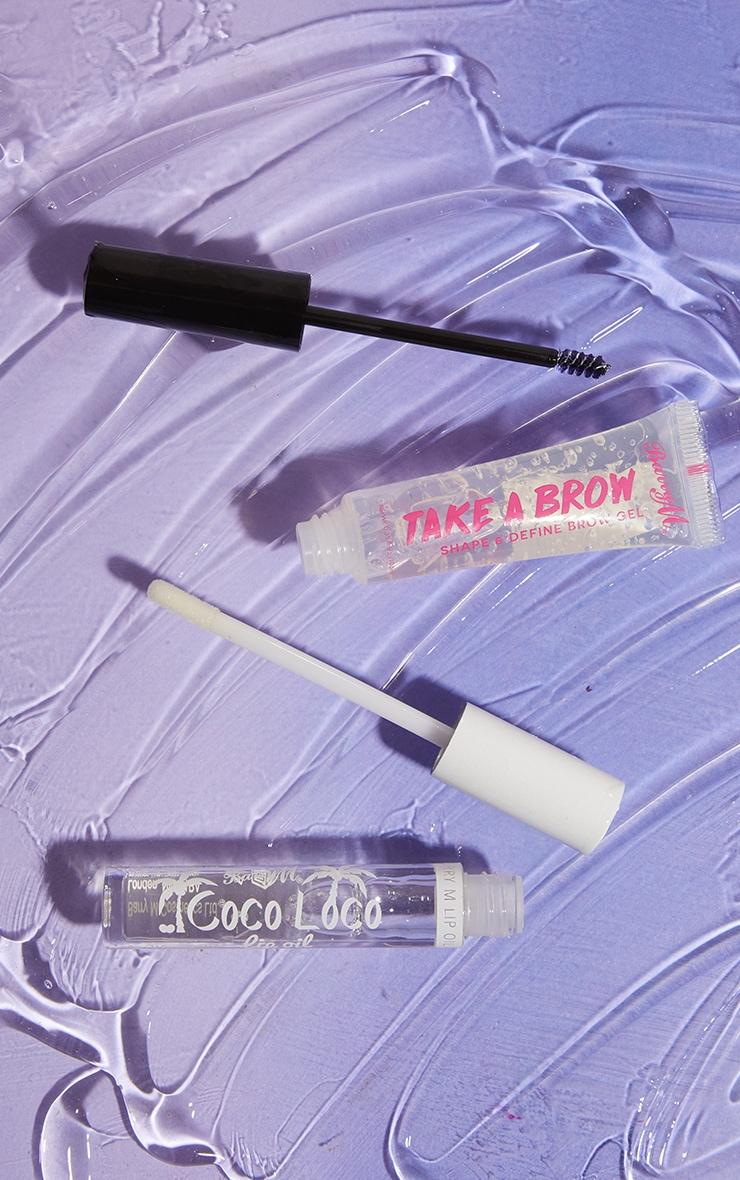 Barry M Cosmetics Brow & Lip Oil Bundle 2
