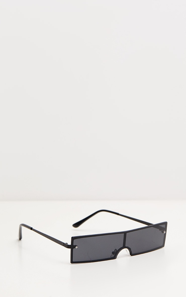 Black Rectangular Sunglasses 3