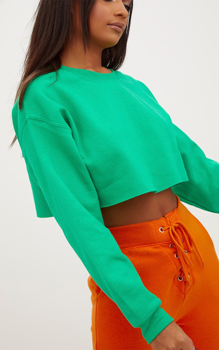 Jade Green Ultimate Cropped Sweater 5