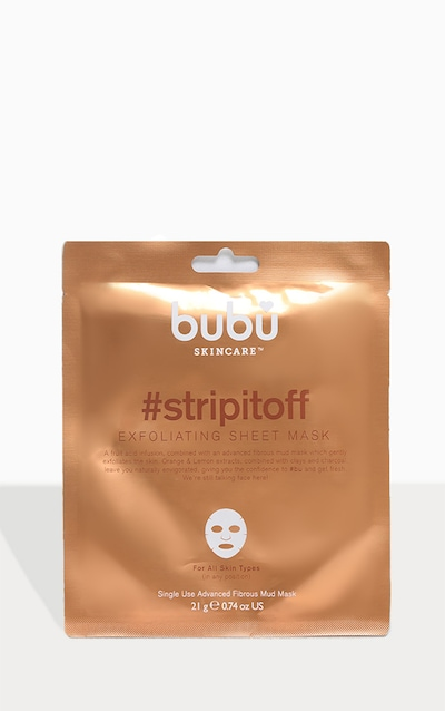 Bubu Skincare stripitoff Exfoliasting Mask