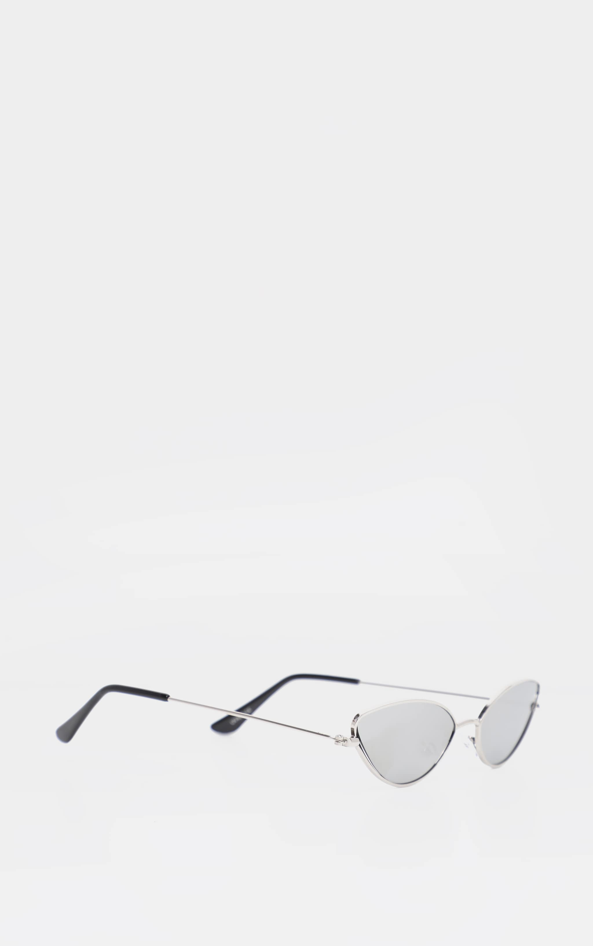 Silver Revo Metal Almond Shape Sunglasses 3