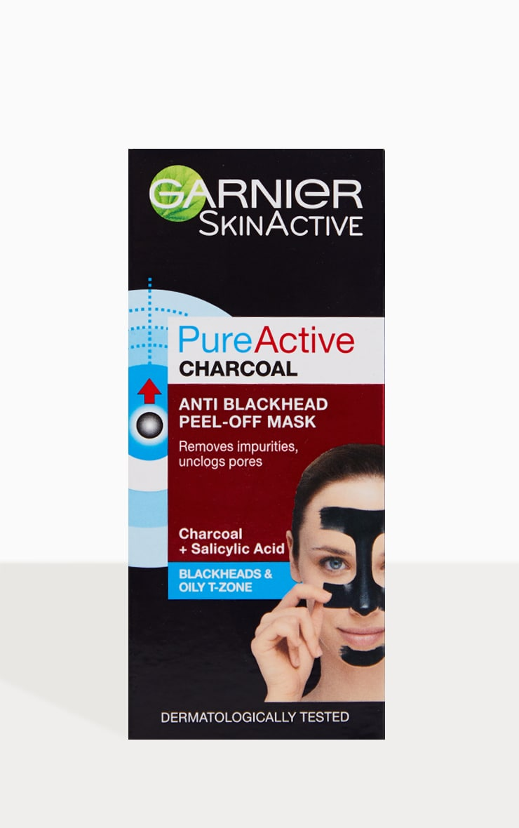 Garnier Pure Active Anti Blackhead Charcoal Peel Off Mask 4