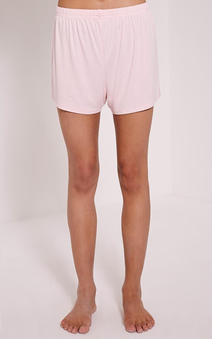 Love Don't Pay The Bills Pink Pyjama Short Set 5