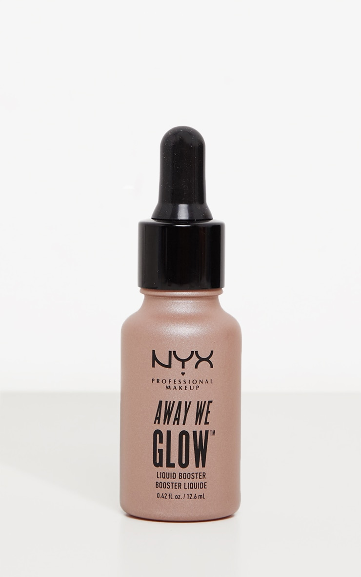 NYX Professional Makeup Away We Glow Liquid Booster Glazed Donuts 1