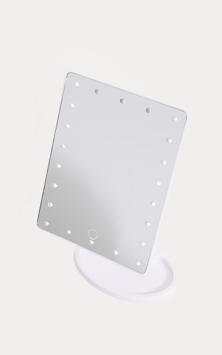 Miroir vanity blanc à LED 2