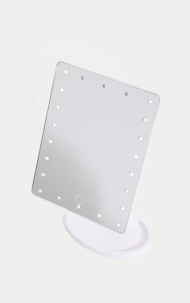 LED Vanity Mirror White 2