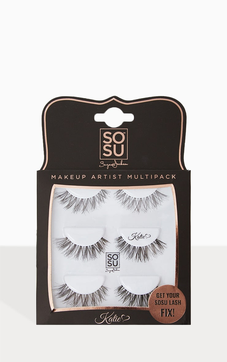 SOSUBYSJ Katie Multipack False Eyelashes 1