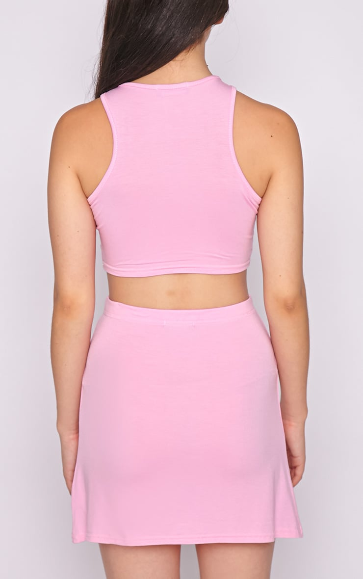Madelyn Pink Crop Top 2