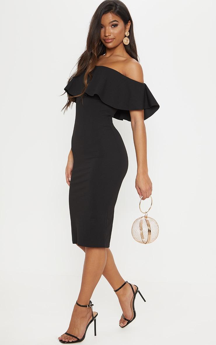 Shape Zoeanna Rose Wrap Front Midi Dress 1