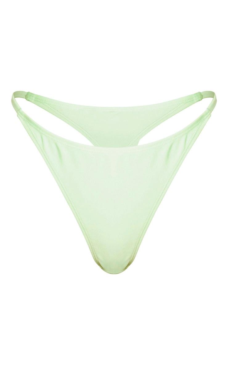 Mint Mix & Match String Thong Bikini Bottom 3
