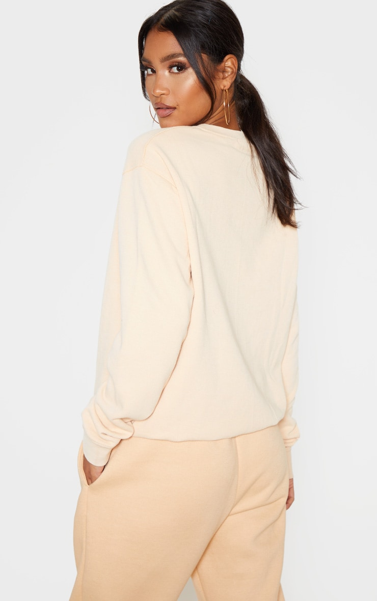 Fawn Washed Ultimate Sweater 2