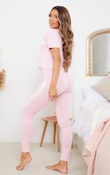 PRETTYLITTLETHING Pink Leggings PJ Set 2