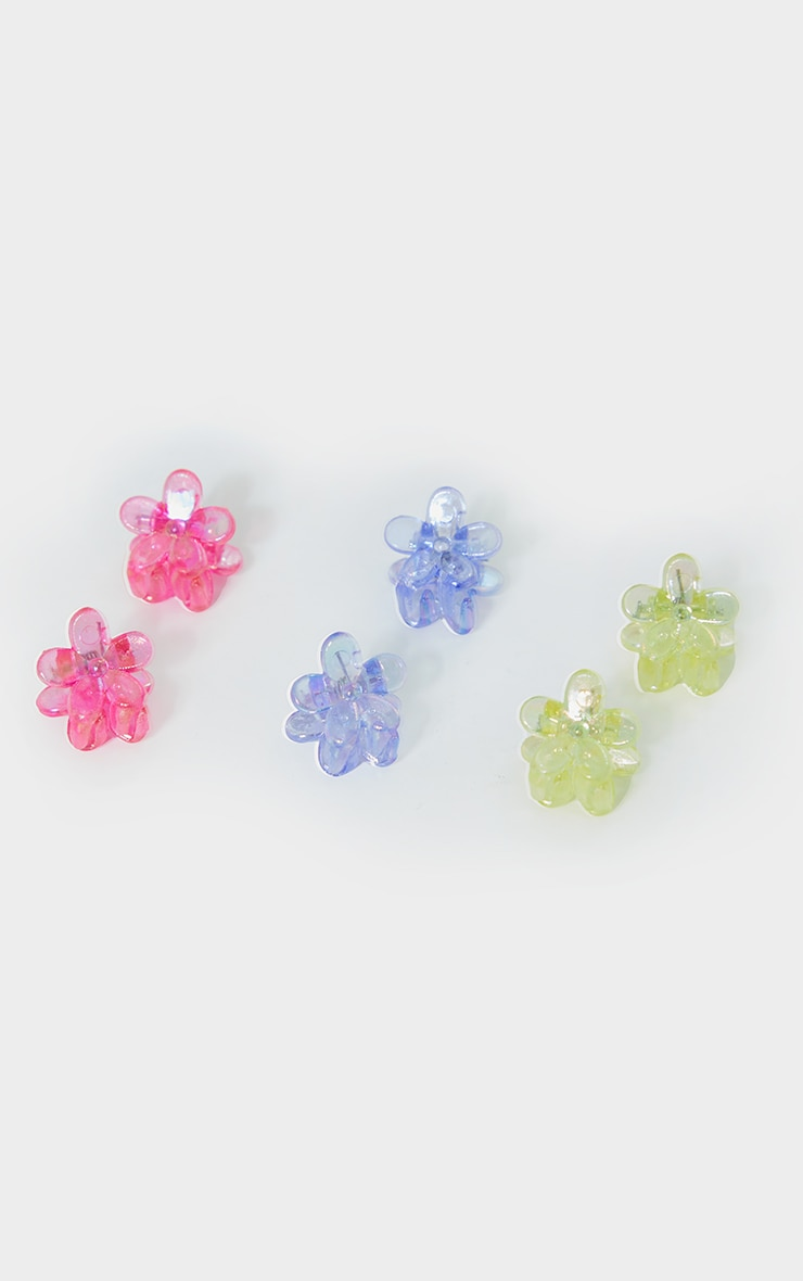 Multi Flower 12 Pack Clips 2