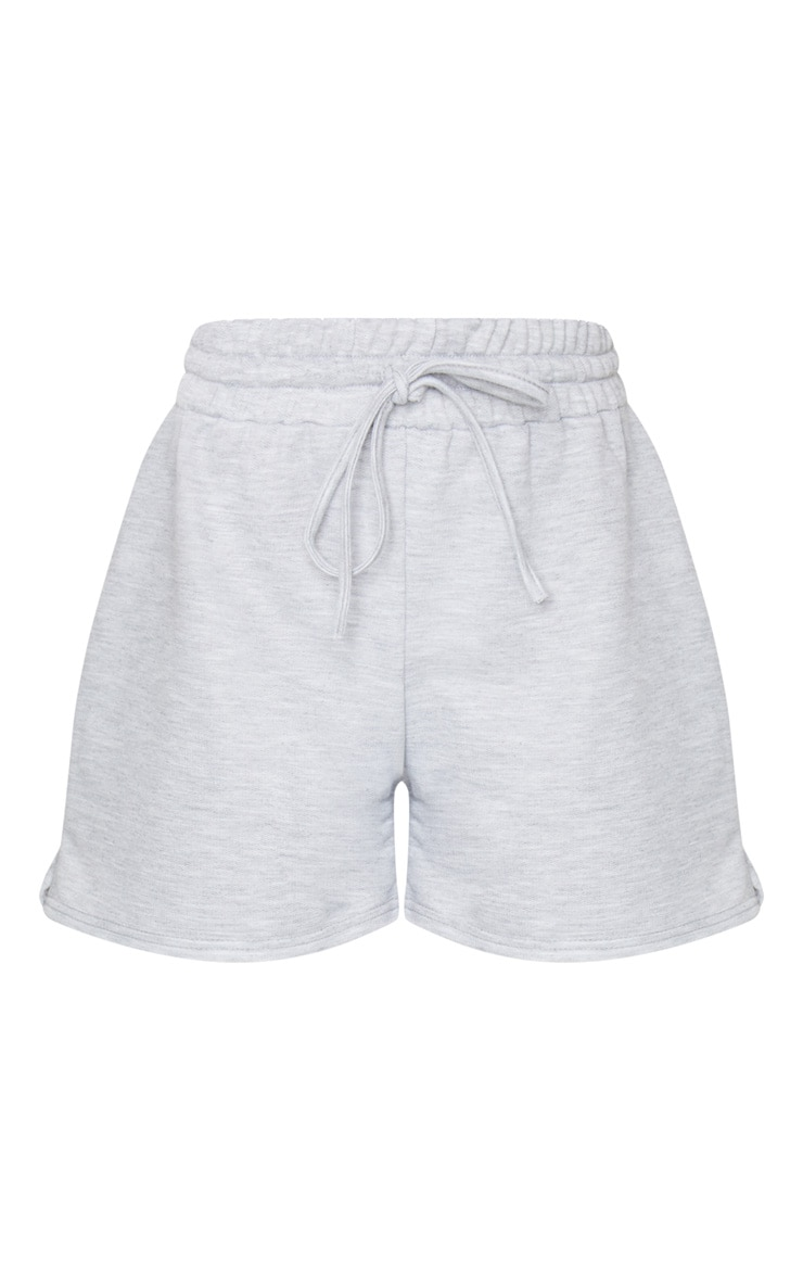 Grey Marl Loungewear Drawstring Shorts 6