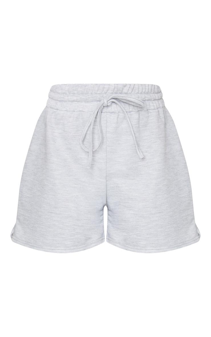 Grey Marl Loungewear Drawstring Shorts 6