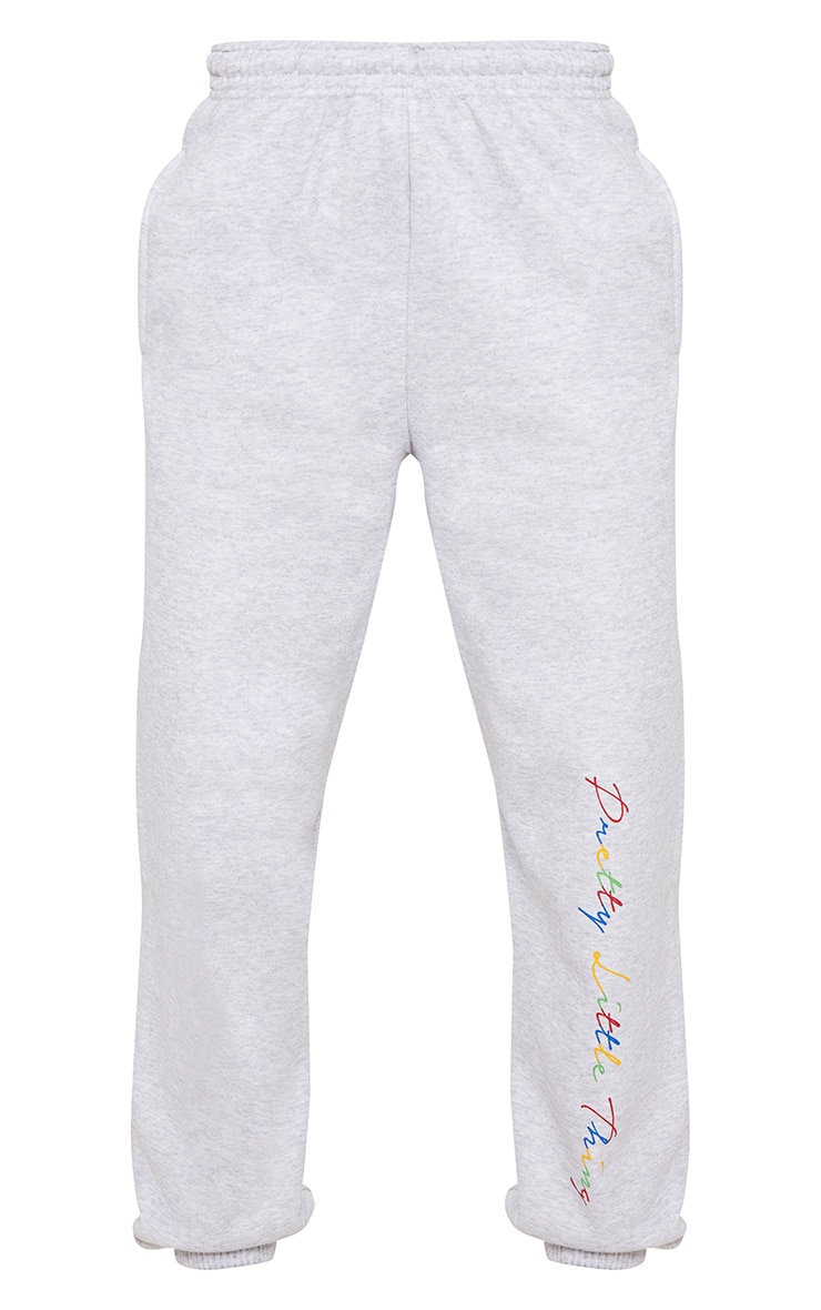 PRETTYLITTLETHING Grey Multi Joggers 3