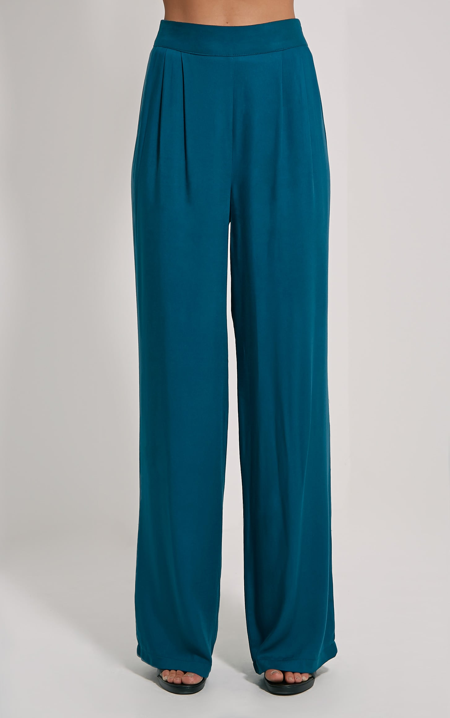 Posey Teal Relax Fix Trousers 2