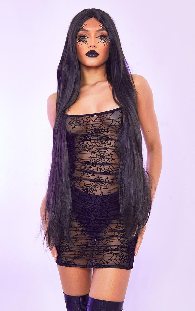 Black 40 Inch Wig 1