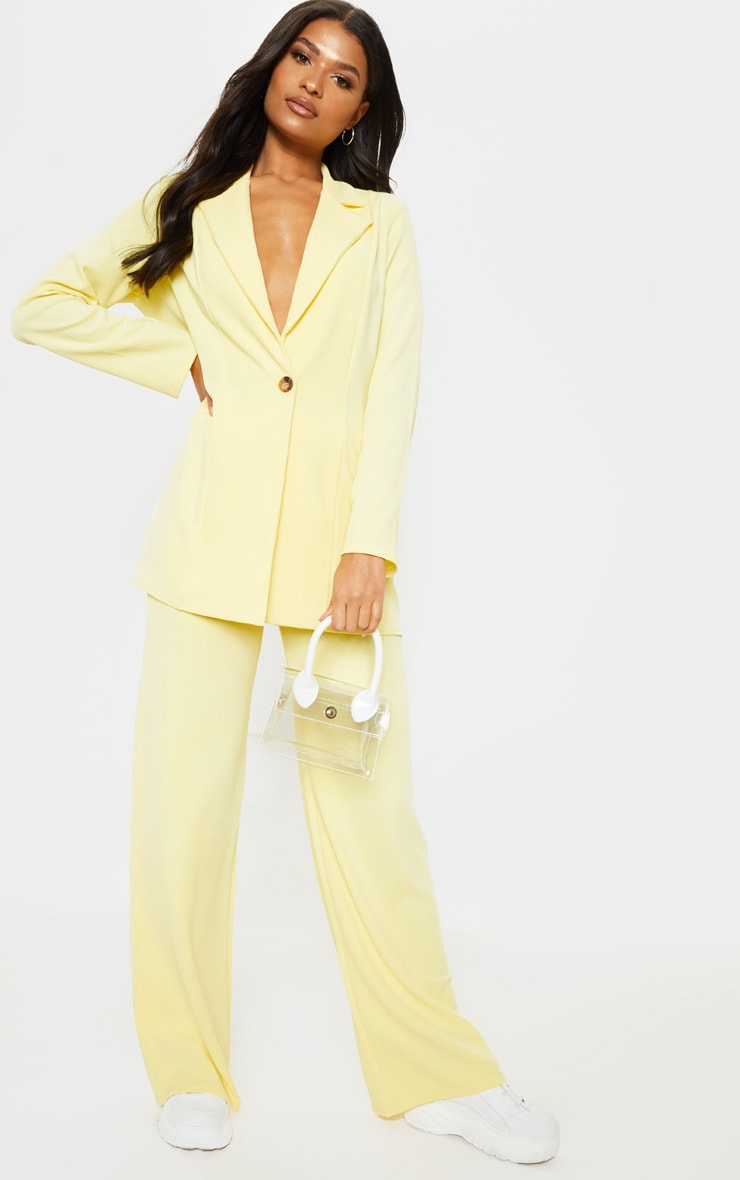 Lemon Wide Leg Pants 1