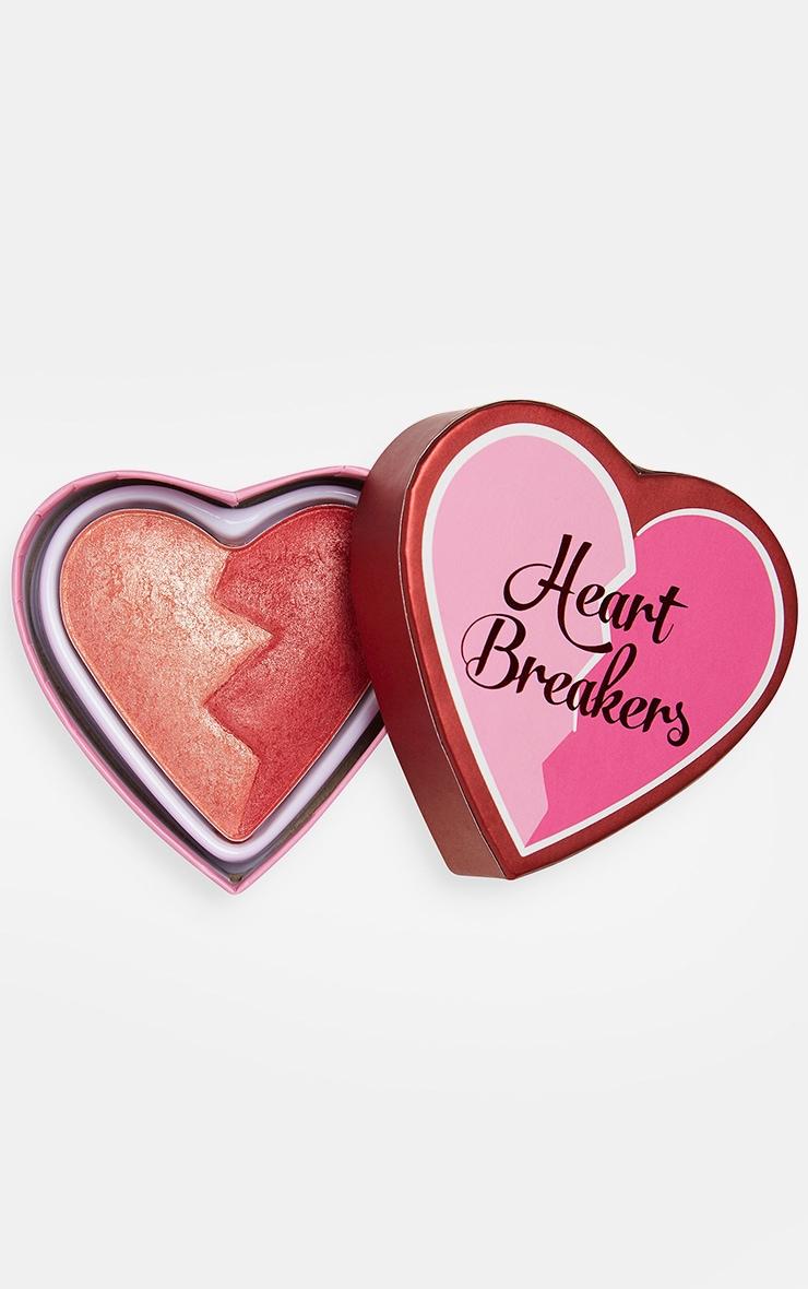 I Heart Revolution Heartbreakers Shimmer Blush Strong 1
