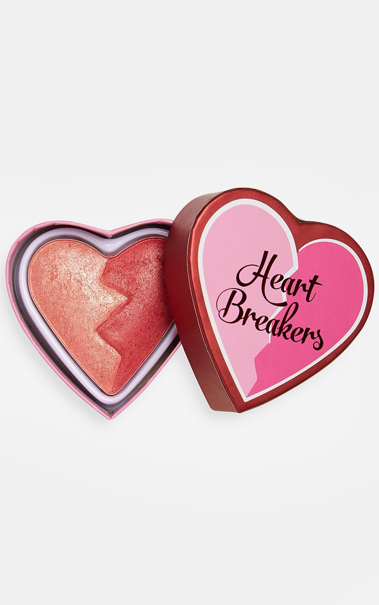 I Heart Revolution Heartbreakers Shimmer Blush Strong image 1