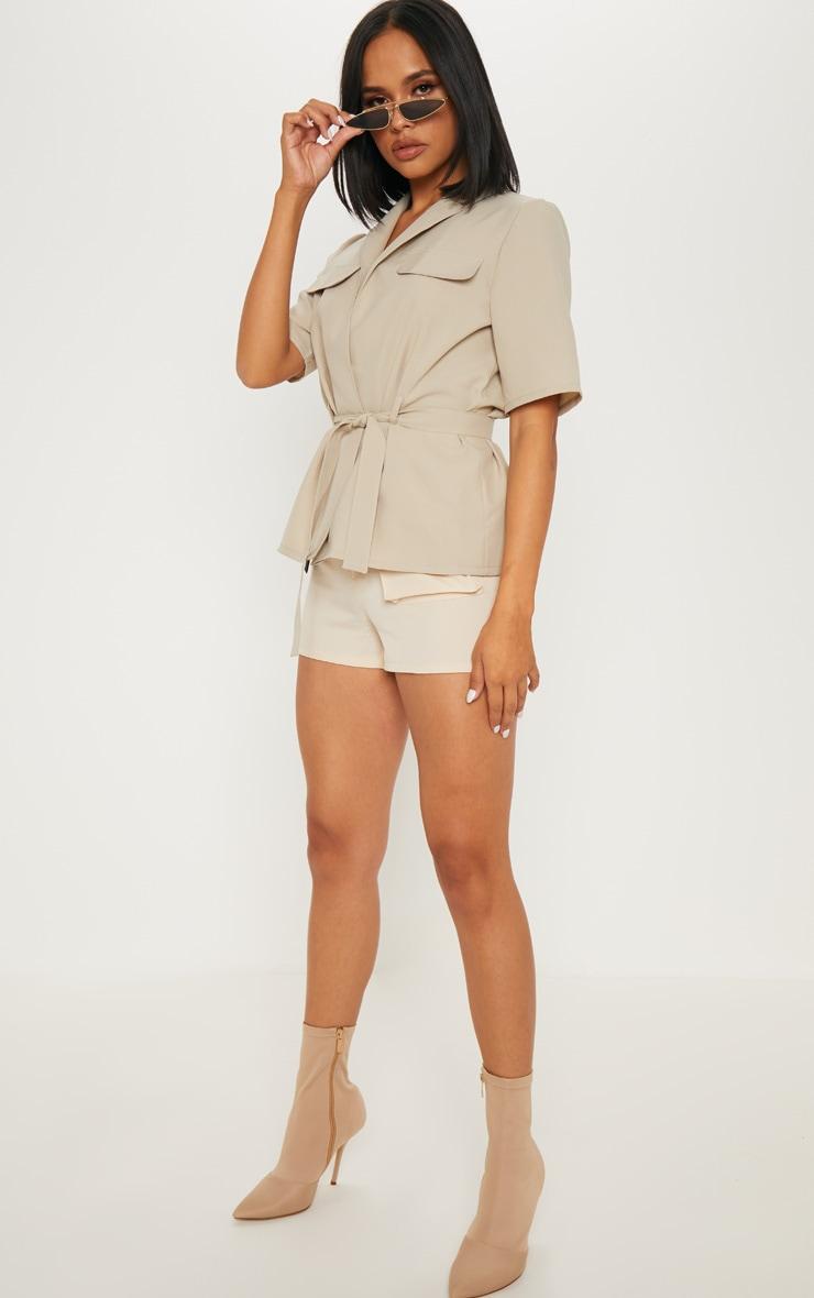 Stone Short Sleeve Utility Shirt 4